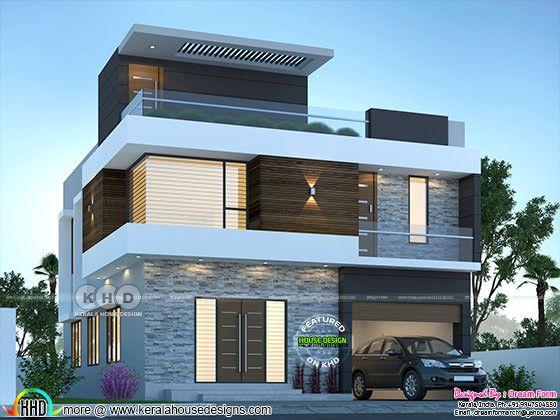 2306 sq-ft 4 bedroom modern house plan