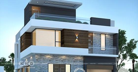 2306 Sq Ft 4 Bedroom Modern House Plan Kerala Home