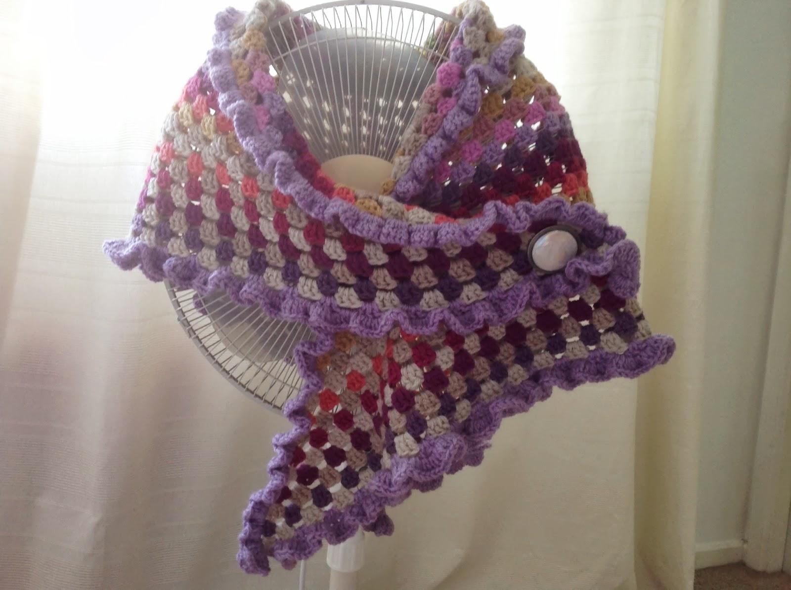 Susan pinner: a splash of colour a c2c in aldi yarn.....