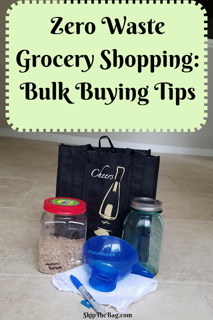 Glass containers, wide mouth funnel, reusable bags