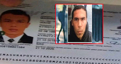 بطاقة هوية سفاح #اسطنبول بعد التعرف عليه تكشف مفاجأة كبرى عن جنسيته و ديانته !!