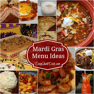 Best Of The Best Mardi Gras Brunch And Party Foods Menu Ideas