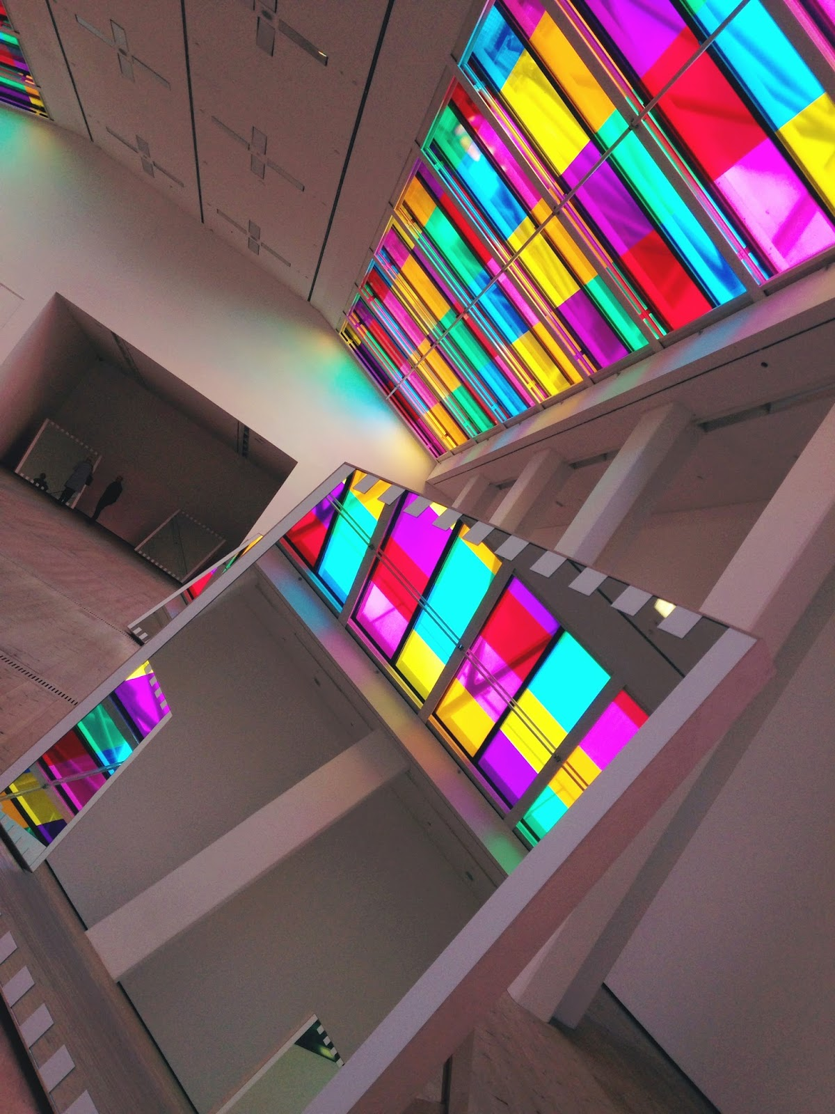 Hello Freckles Daniel Buren Baltic Gateshead Review