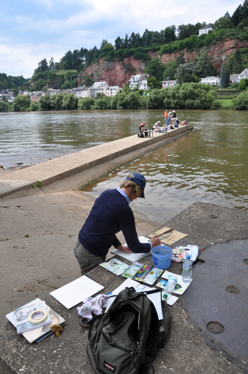 malen und reisen