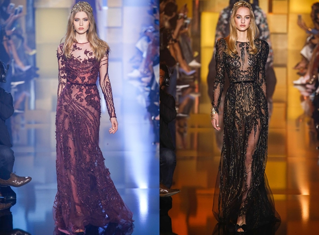 ELIE SAAB Fall Couture collection