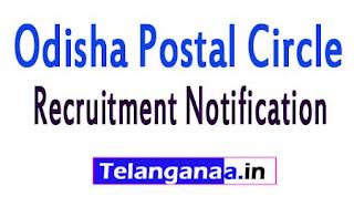 Odisha Postal Circle Recruitment Notification 2017