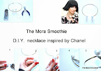 chanel, diy chanel, diy blog, diy fashion, necklace chanel, themorasmoothie, diy blogger, fashionblog, fashionblogger