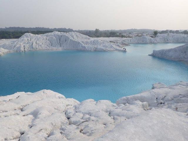 wisata Kalimantan Tengah danau Salju