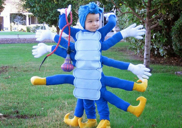 10 cutest and interesting festival costumes for Kids