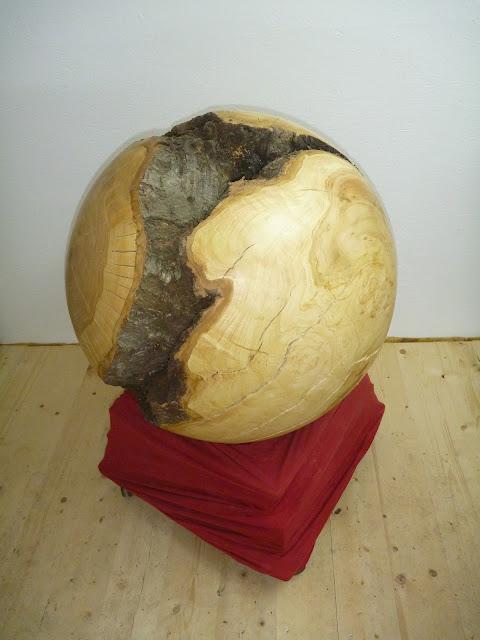 Dekoobjekt Holzkugel