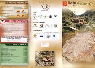 Visitar Peña García Ruta de los Fósiles