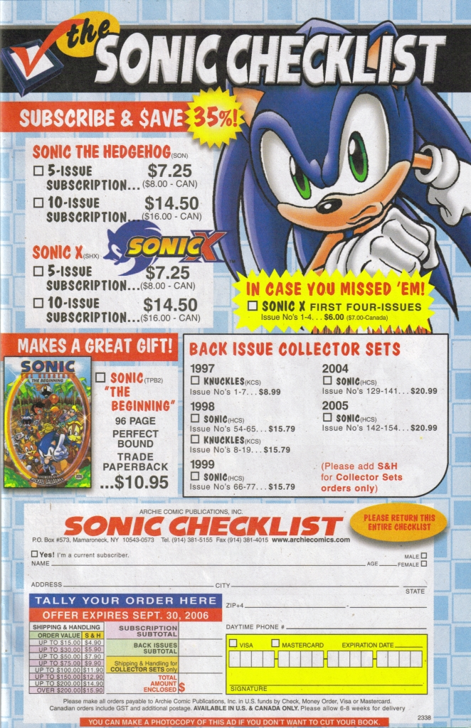 Read online Sonic The Hedgehog comic -  Issue #168 - 41