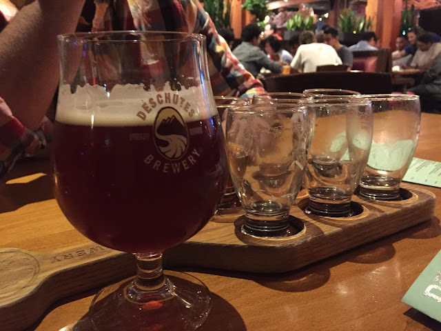 Deschutes Brewery Portland Long Weekend in Oregon: Flashback Friday — October blogging Challenge Day 9