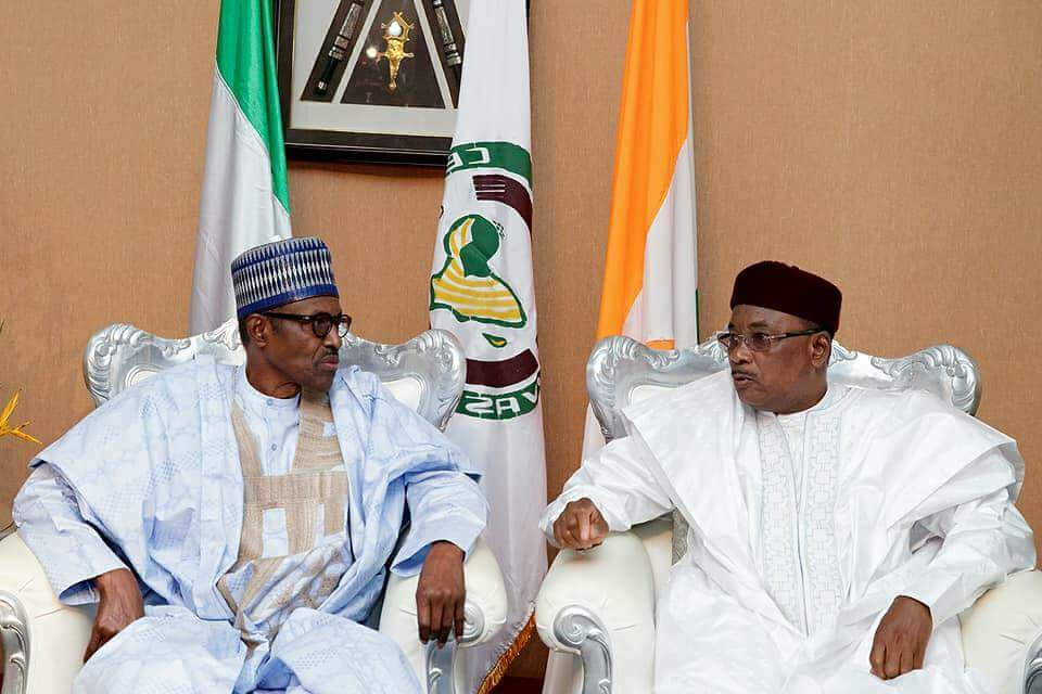 Buhari Arrives Niamey For ECOWAS Meeting