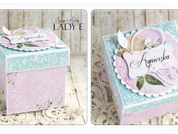 Birthday Cake in the Box - tutorial - Wild Orchid Crafts DT