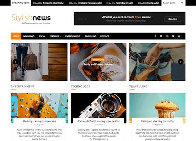 News Blogger Theme