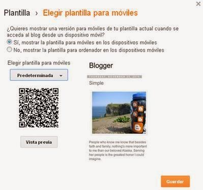 Plantillas Blogger para Móviles Línea Pasatiempo