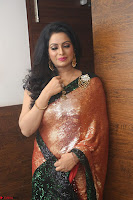 Udaya Bhanu lookssizzling in a Saree Choli at Gautam Nanda music launchi ~ Exclusive Celebrities Galleries 067.JPG