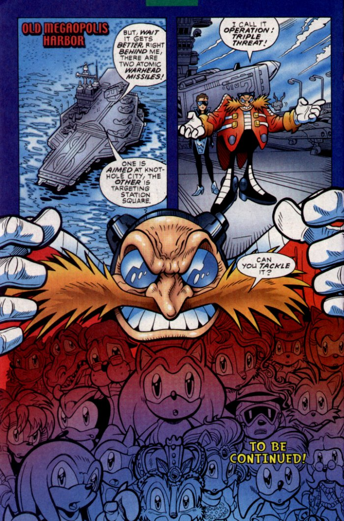 Read online Sonic The Hedgehog comic -  Issue #130 - 25