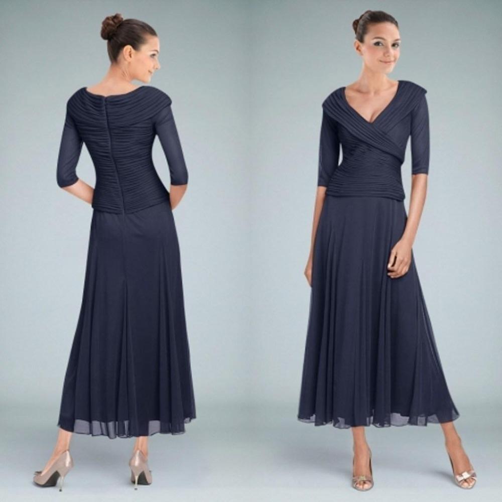 Mother of the Bride Dresses: Tea Length - ContactSunil