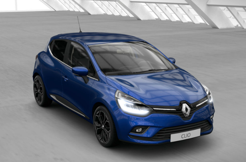 renault clio iv restyl e 2018 couleurs colors. Black Bedroom Furniture Sets. Home Design Ideas