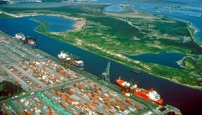 ABD'de bulunan en büyük ve geniş limanların listesi