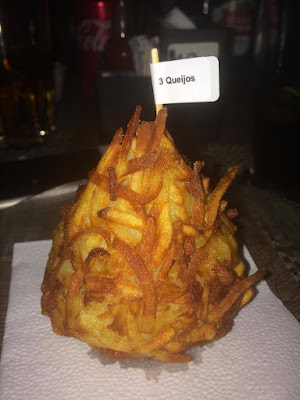coxinha rosti de três queijos
