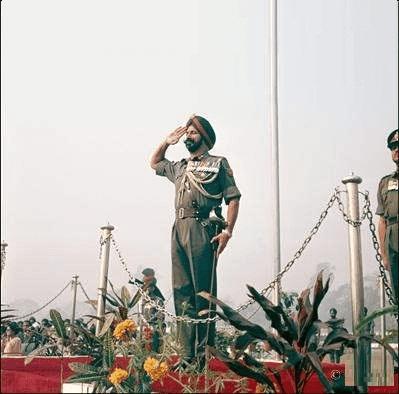 Jagjit Singh Aurora Lieutenant General Indian Army Celebrated Hiro Indo Pak War 1971 HD Photo Images