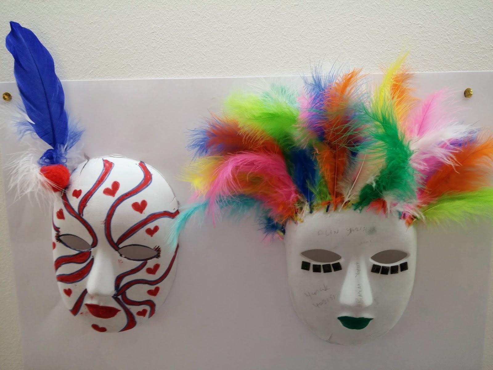 şimdiye Kadarki En Iyi Maske Boyama örnekleri 6 Sınıf Erkek