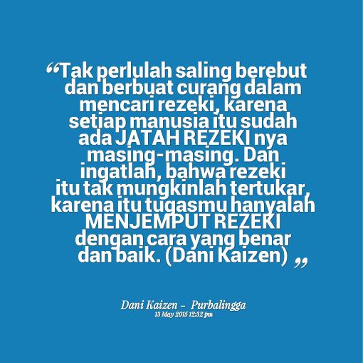 Rezeki Allah Itu Luas Cikgunorazimah 5 Quotes