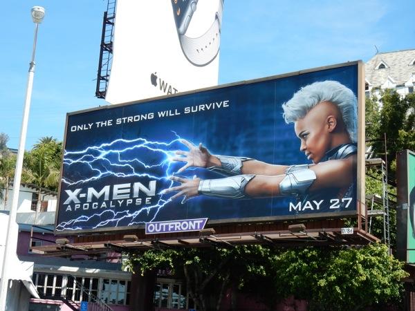 X-Men Apocalypse Storm billboard