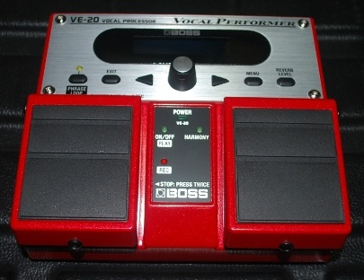 rex and the bass boss ve 20 vocal performer effects processor review. Black Bedroom Furniture Sets. Home Design Ideas