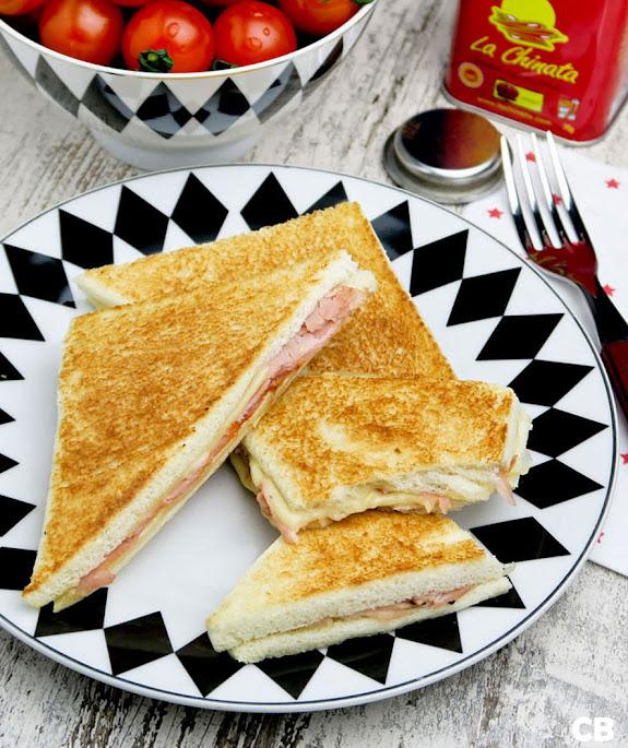 Recept Argentijnse tostados de jamón y queso: flinterdunne ham-kaastosti's