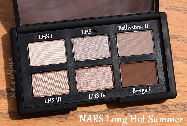 NARS Long Hot Summer Eyeshadow Palette Review 2016 Collection