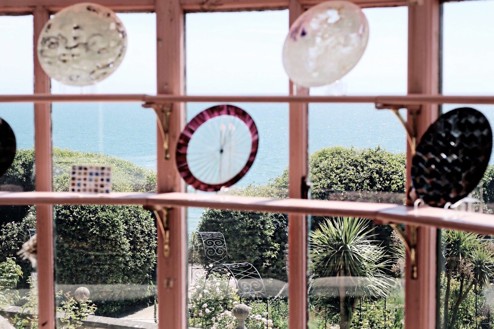 Summer sea views from Russell-Cotes museum
