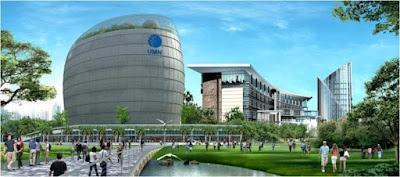foto kampus UMN Serpong