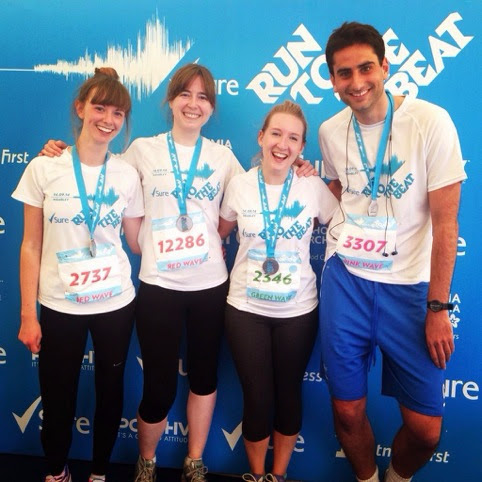 Run To The Beat: 14th September 2014