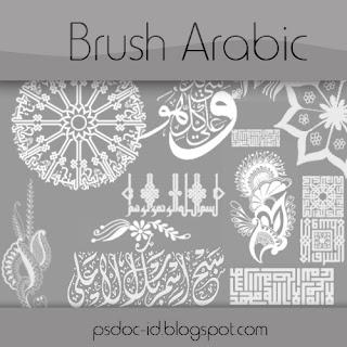 dan pastinya dari banyak tool ini  ada fungsinya masing masing ya sob Brush arabic untuk photoshop