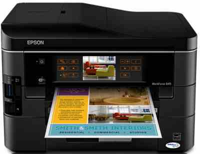 Epson WorkForce 845 Printer Driver Download