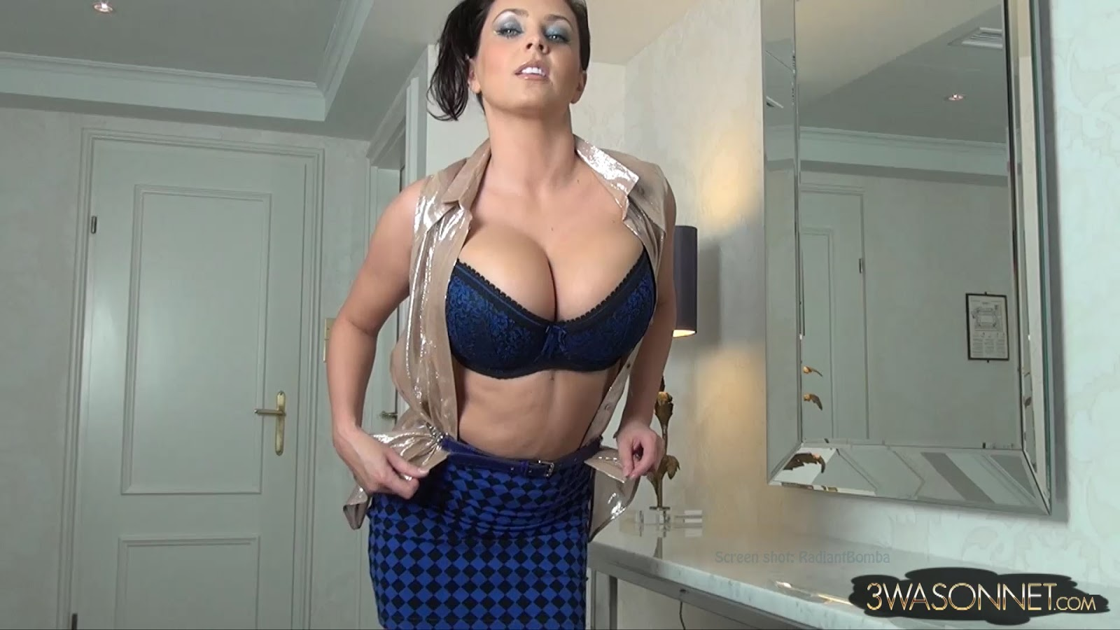 Charming eden mor with an incredibly huge natural boobs 2