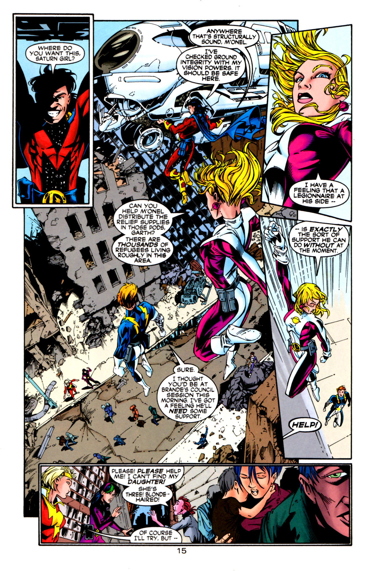 Legion of Super-Heroes (1989) 124 Page 15