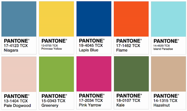 pantone 2017 cor do ano greenery
