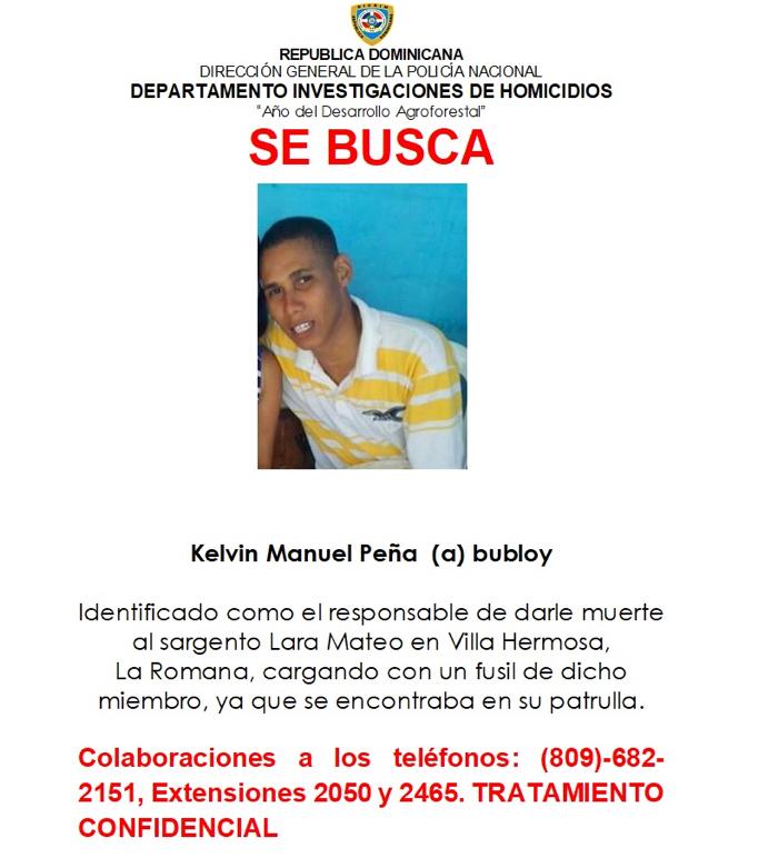 Kelvin Manuel Peña (a) Bubloy