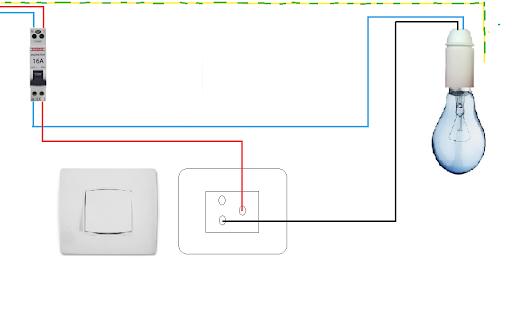 Electricite google - Schema simple allumage ...