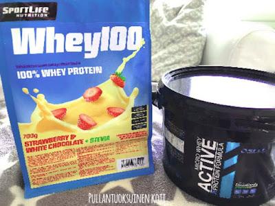 #stevia #heraproteiini #makeutusaine #whey100 #sportlife #wheyprotein #microwheyactive #terveys #healthyprotein #fitnesslife #fitnessfood