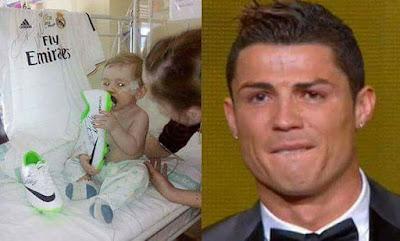 Gran gesto de Cristiano Ronaldo
