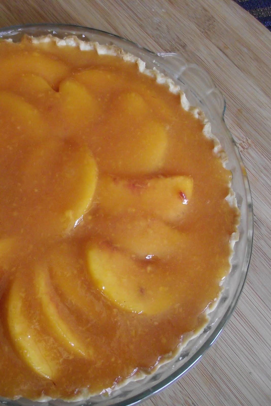 Leesh Amp Lu S Recipe Box Fresh Peach Pie