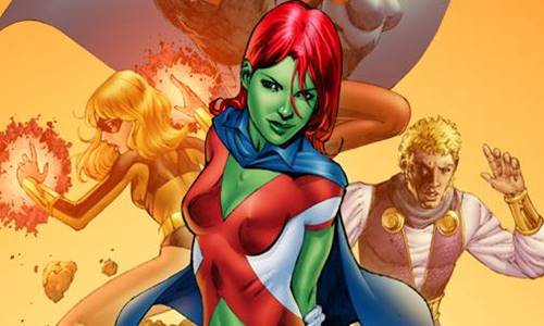 Miss Martian dc comics