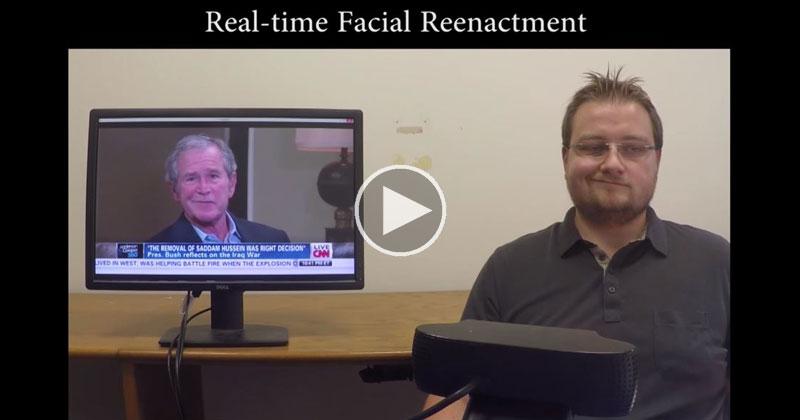 Tecnología de manipulación de vídeo en tiempo real es tan impresionante como terrorífico