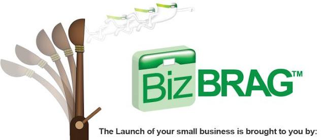 launch your small business using biz brag